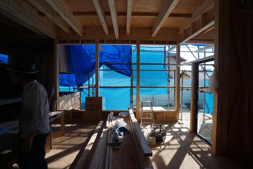 建築家,設計事務所,吹田,豊中,高級注文住宅設計,サッカーグラウンドのある家,リビング