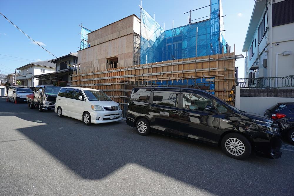 建築家,設計事務所,吹田,豊中,高級注文住宅設計,サッカーグラウンドのある家,外観