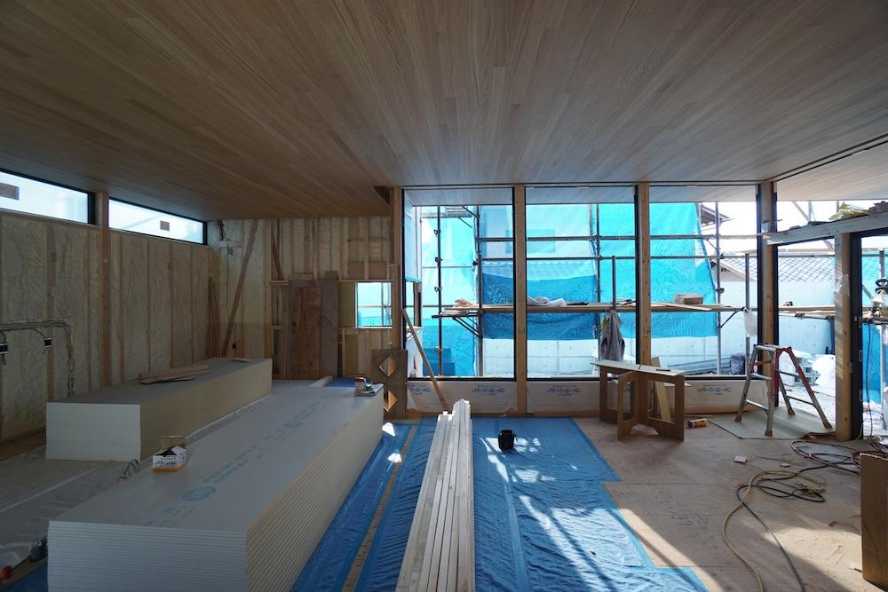 建築家,北摂,豊中,高級注文住宅設計,大阪,神戸,寝室,デザイン,天井板