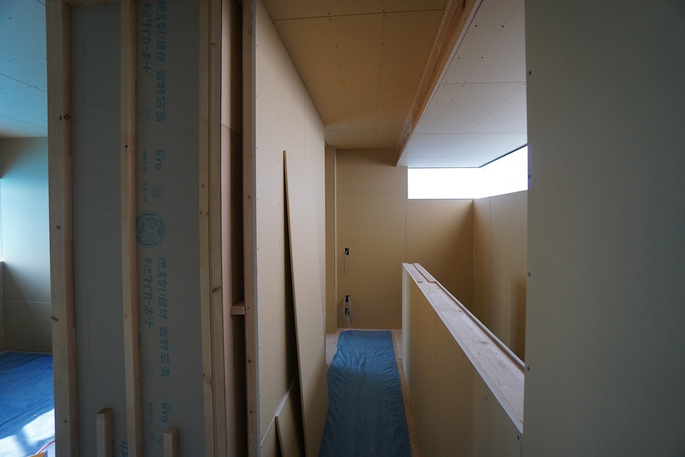 建築家,北摂,豊中,高級注文住宅設計,大阪,神戸,寝室,階段デザイン
