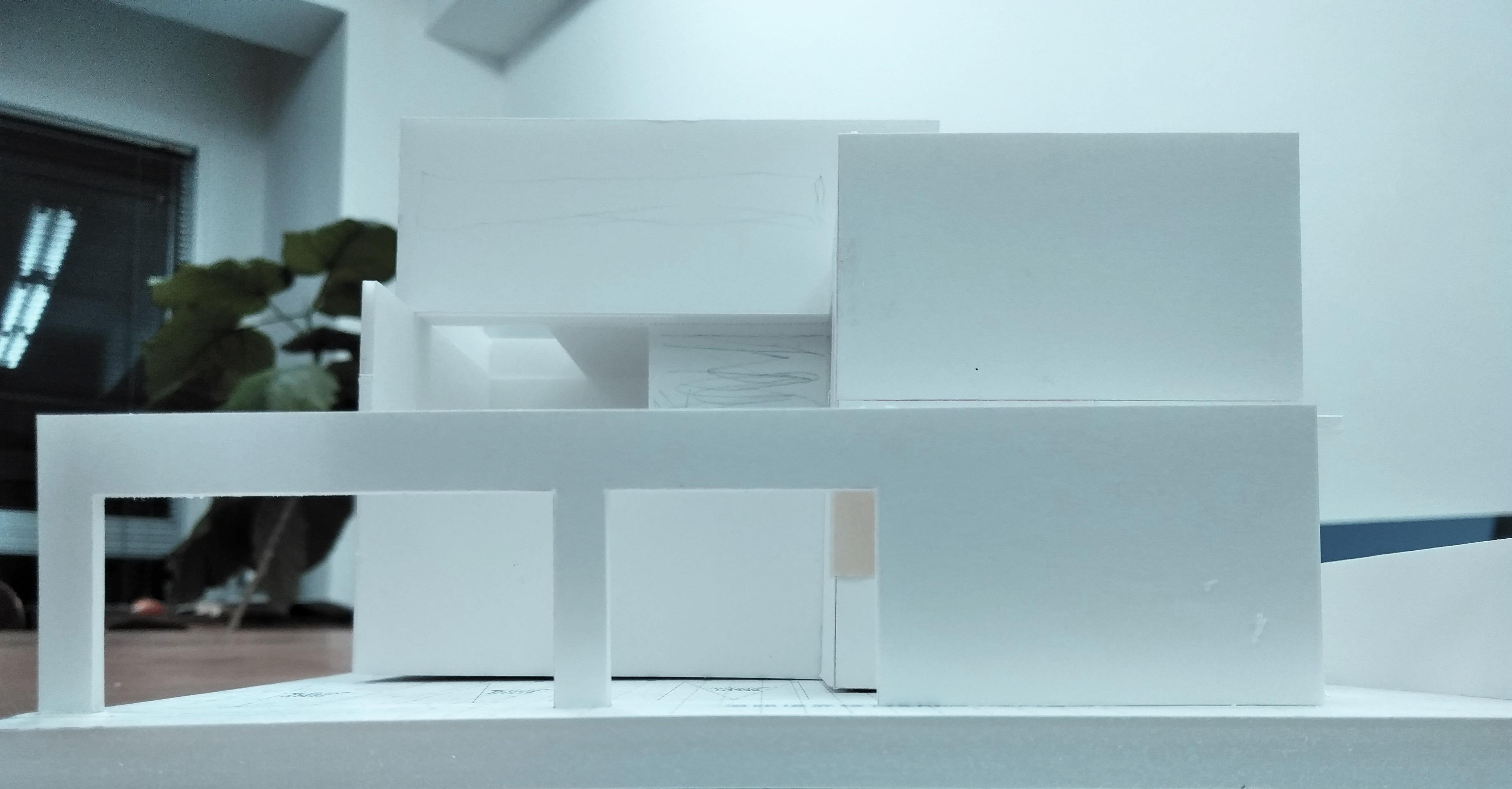 建築家,外観検討模型,高級注文住宅設計,大阪,神戸