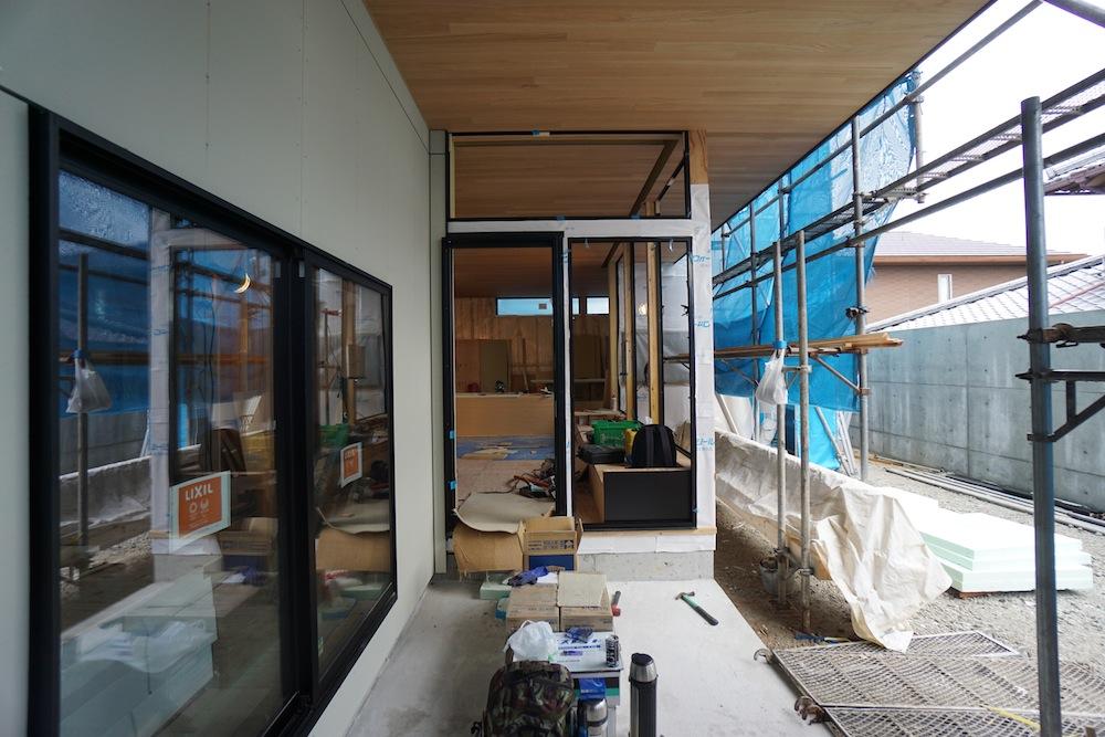 建築家,大阪,豊中,神戸,高級注文住宅設計,サッカーグラウンドのある家,外壁下地工事