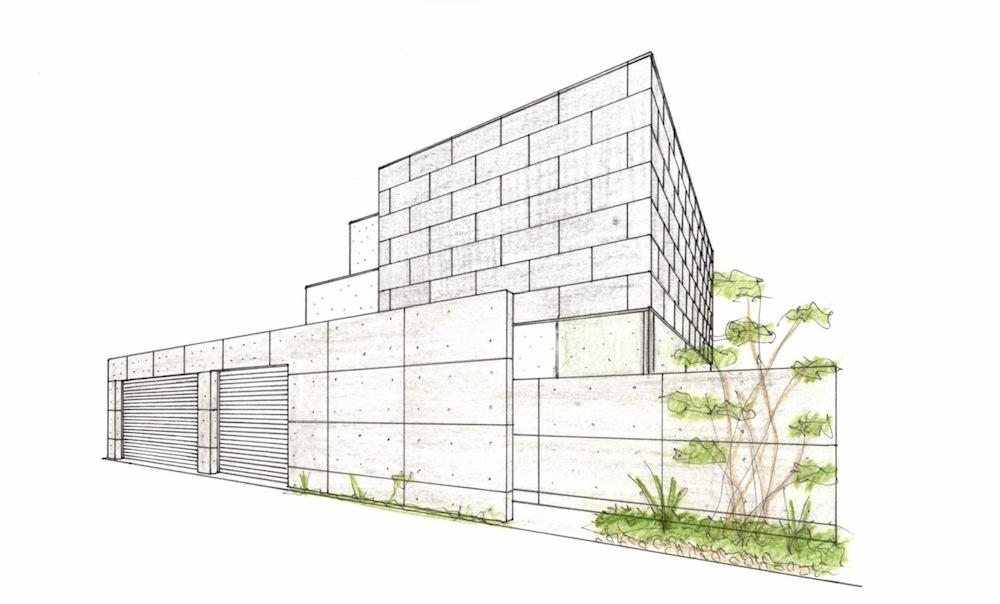 外観の検討,大阪,豊中,高級注文住宅設計,建築家,タイル,