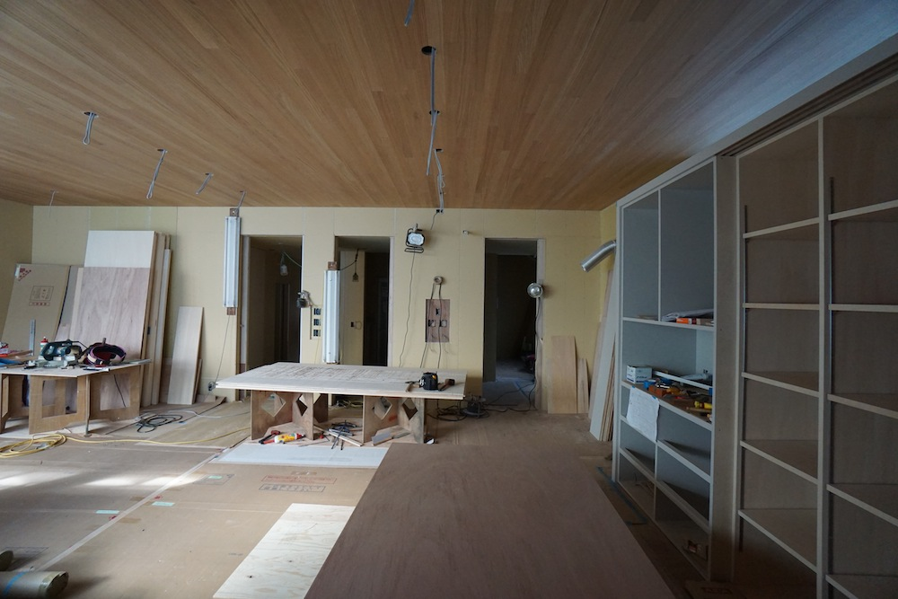 建築家,大阪,高級注文住宅設計,豊中,北摂,オープンハウス,造作工事,ハイサイドライト