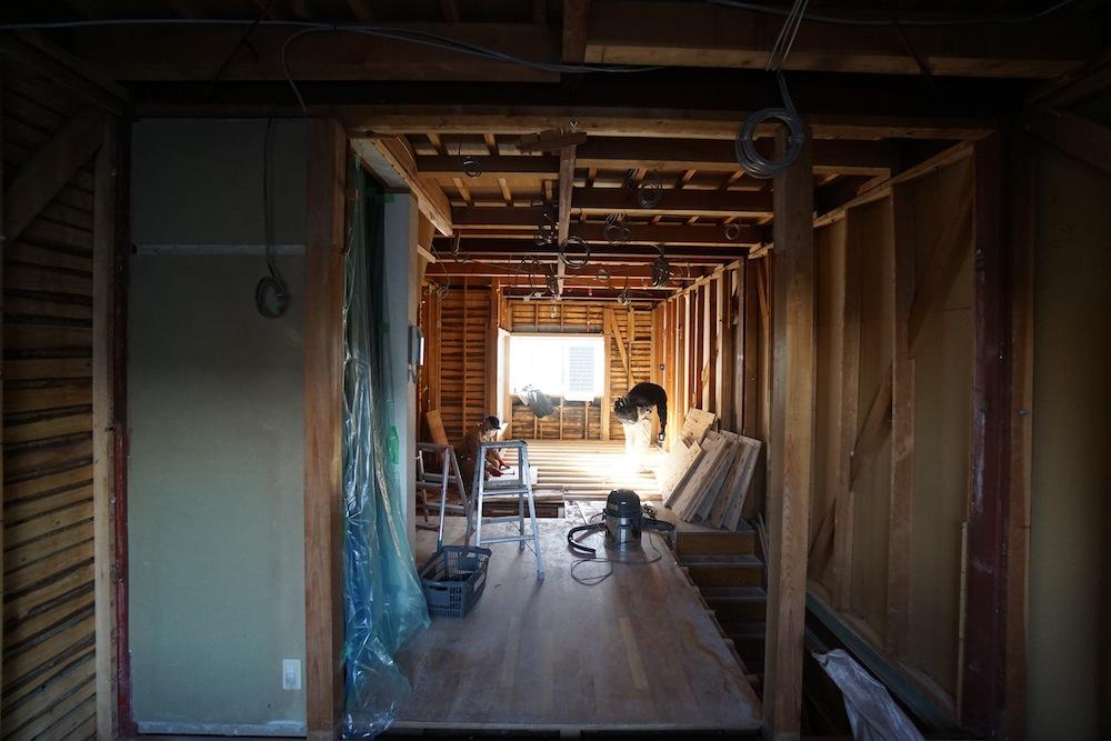 解体工事,建築家のリフォーム,建築家のリノベーション,デザイン,高級注文住宅設計,大阪,神戸