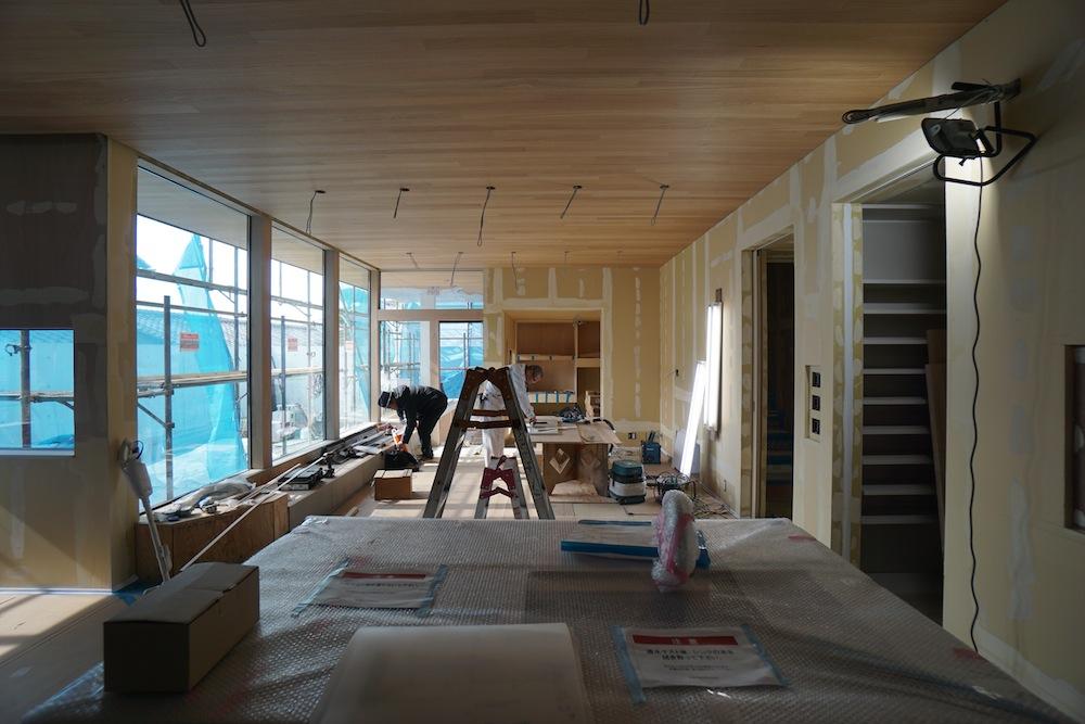 建築家,高級注文住宅設計,大阪,豊中,北摂,吹田,家づくり,コートハウス,ベンチソファ