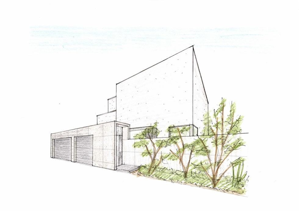 大阪,豊中市,高級注文住宅設計,コートハウス,コンクリート