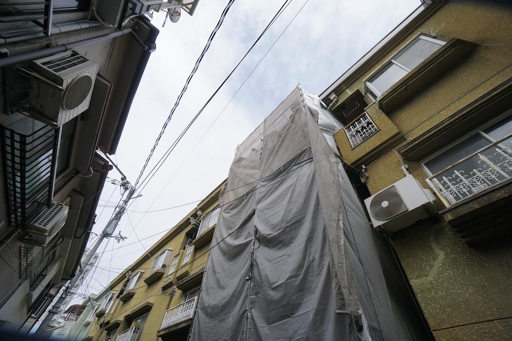 高級リノベーション,建築家,大阪,デザイン,リフォーム,外観