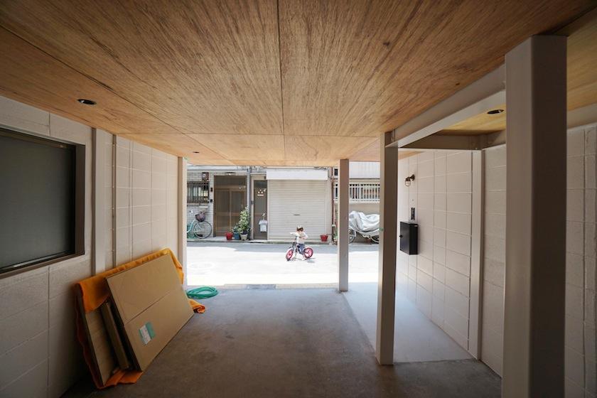 建築家,設計事務所,高級注文住宅設計,大阪,神戸,京都,リノベーション,リフォーム,駐車場,ガレージ