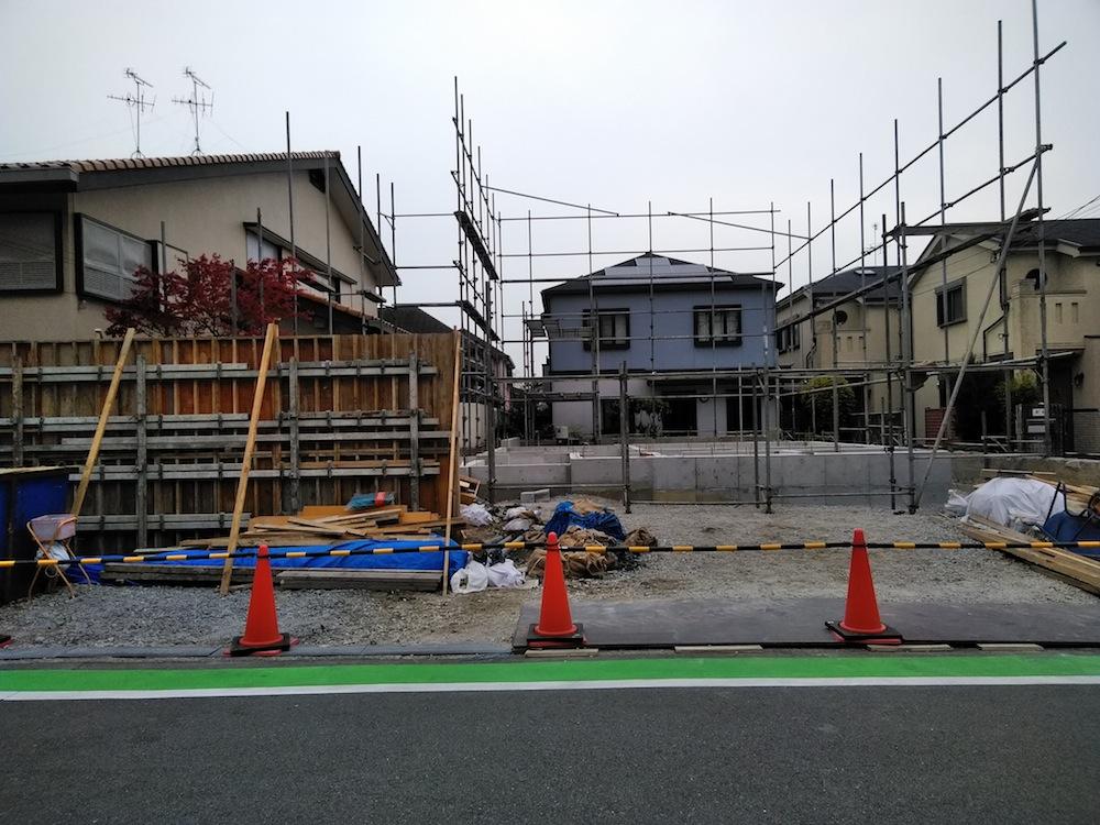 建築家,大阪,神戸,京都,高級注文住宅設計,豊中,北摂,基礎コンクリート