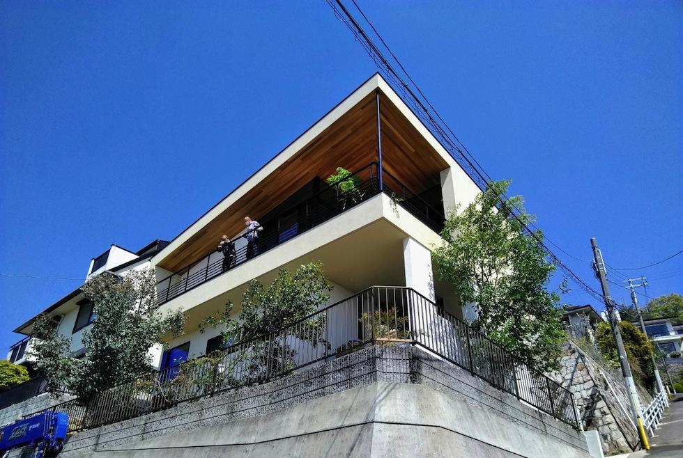 建築家,設計事務所,高級注文住宅設計,大阪,神戸,宝塚,雲雀丘,眺望の家,ビューハウス,スカイテラス