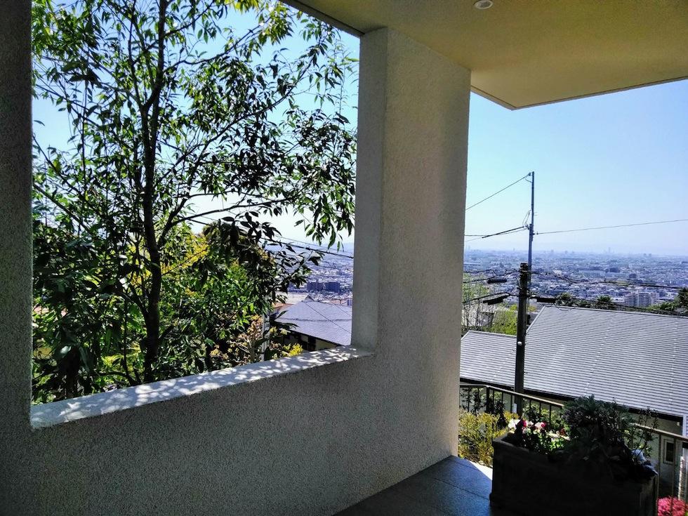 建築家,設計事務所,高級注文住宅設計,大阪,神戸,宝塚,雲雀丘,眺望の家,ビューハウス,スカイテラス,緑と眺望