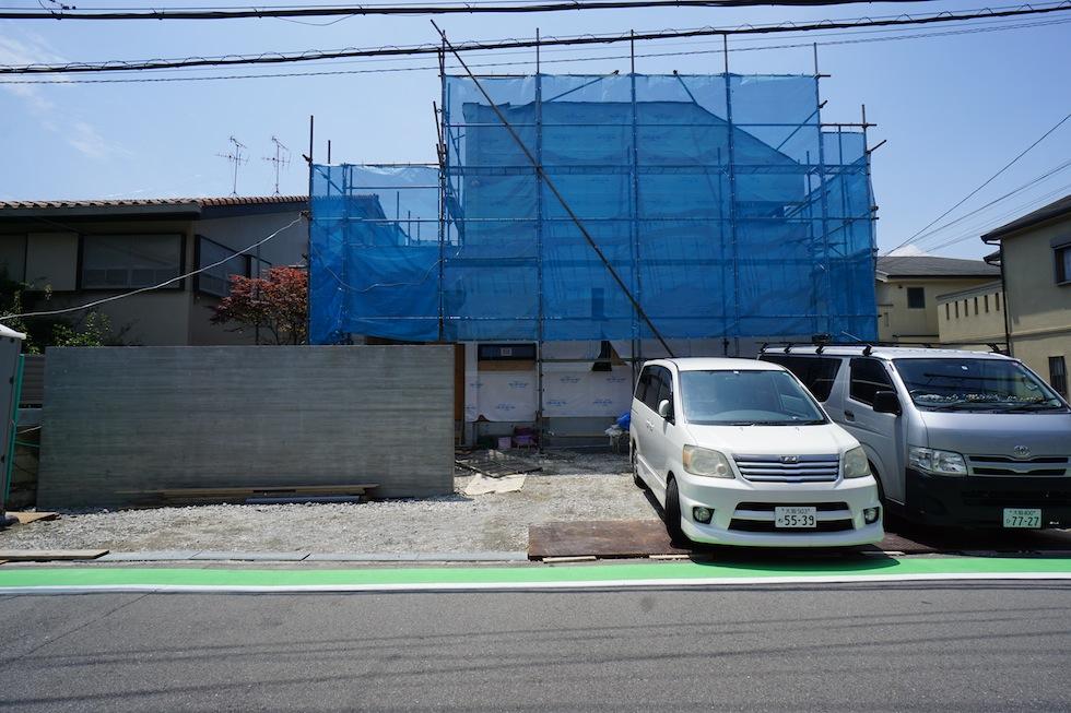 リゾートコートハウス,大阪,豊中,建築家,設計事務所,エントランス,高級注文住宅設計,外観