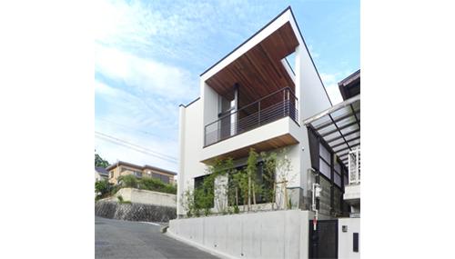 箕面,住宅設計,眺望のある家,高級注文住宅設計,上質なデザイン,北摂