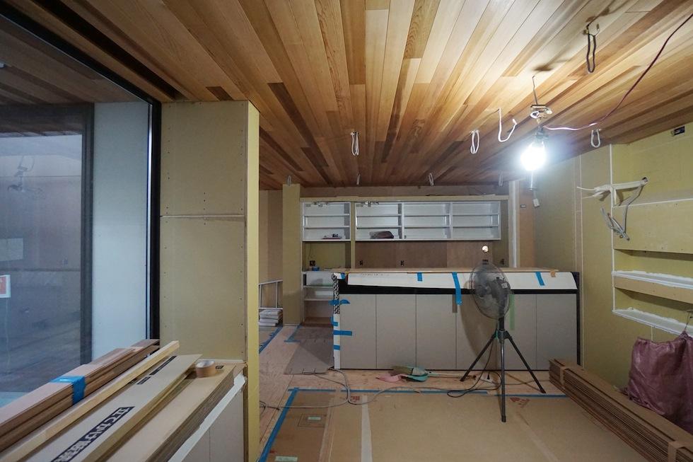 建築家,大阪,北摂,豊中,吹抜,光,コートハウス,中庭,キッチン