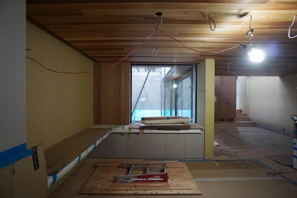 建築家,大阪,北摂,豊中,吹抜,光,コートハウス,中庭,ダイニング