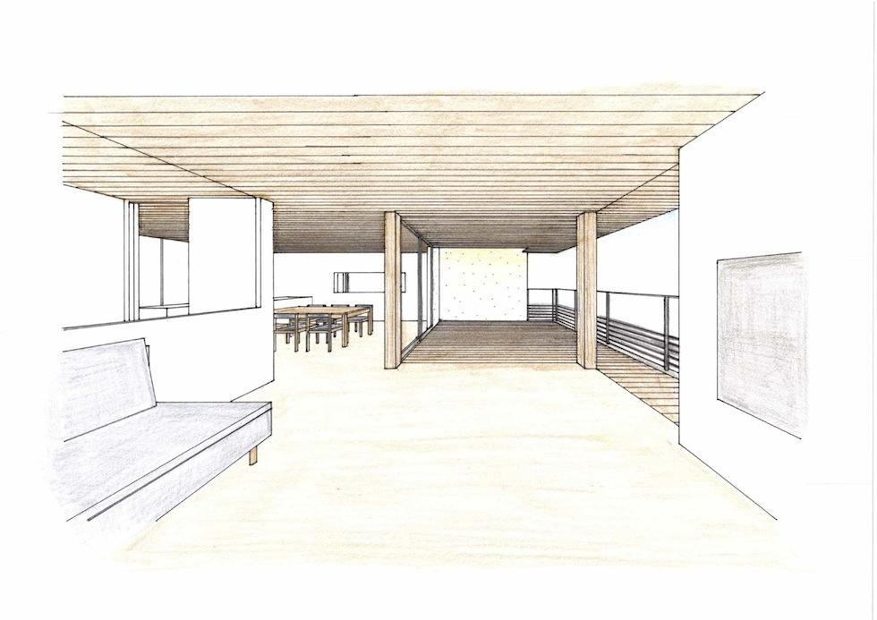 眺望の家,ガレージハウス,建築家,大阪,神戸,京都,高級注文住宅設計,おおきなテラス