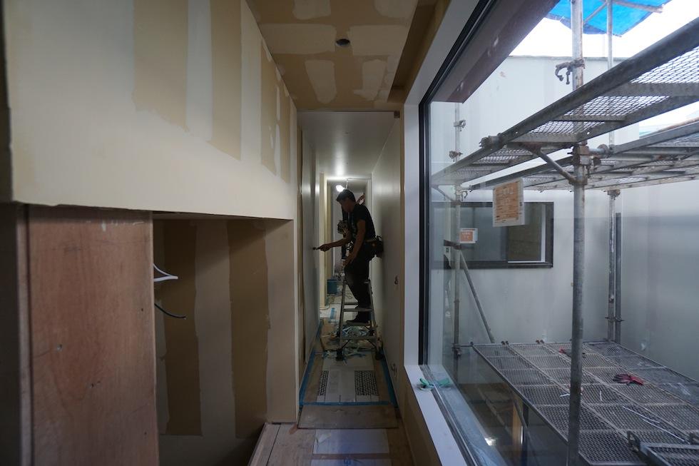 建築家,大阪,豊中,吹抜,高級注文住宅設計,北摂,コートハウス,ラグジュアリー,中庭の家,おおきな窓,