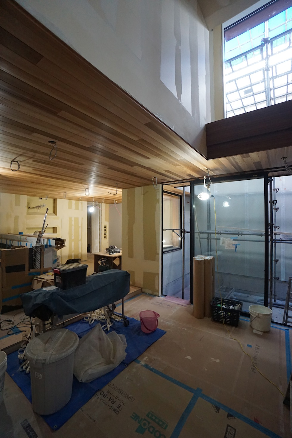 建築家,大阪,豊中,吹抜,高級注文住宅設計,北摂,コートハウス,ラグジュアリー,中庭の家
