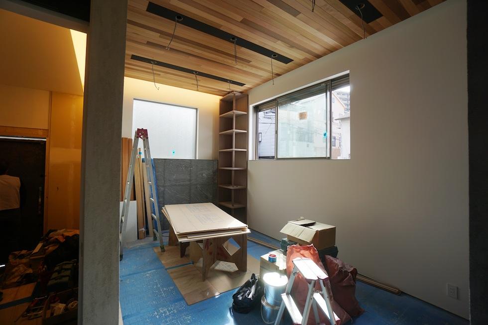 リノベーション,外観,高級注文住宅設計,大阪,建築家の家づくり,東成区,天王寺区,リビング
