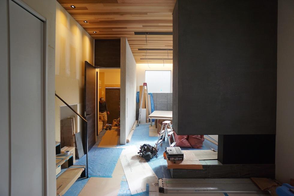 リノベーション,外観,高級注文住宅設計,大阪,建築家の家づくり,東成区,天王寺区,暖炉
