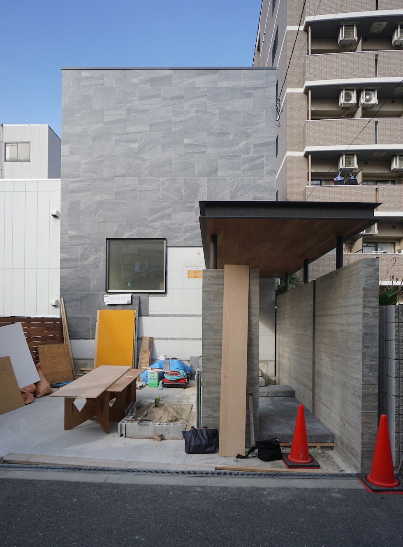 リノベーション,外観,高級注文住宅設計,大阪,建築家の家づくり,東成区,天王寺区