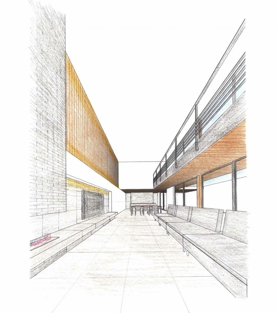 インテリアパース,大阪,検討,建築家,高級注文住宅設計,コートハウス,宝塚