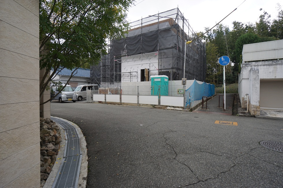 建築家,大阪,豊中,北摂,高級注文住宅設計,外観,コートハウス,中庭の家