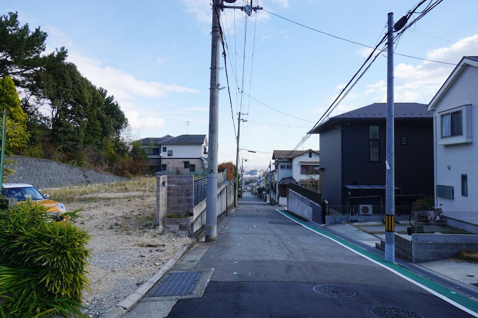 大阪,高級注文住宅設計,建築家,宝塚,土地の調査,擁壁