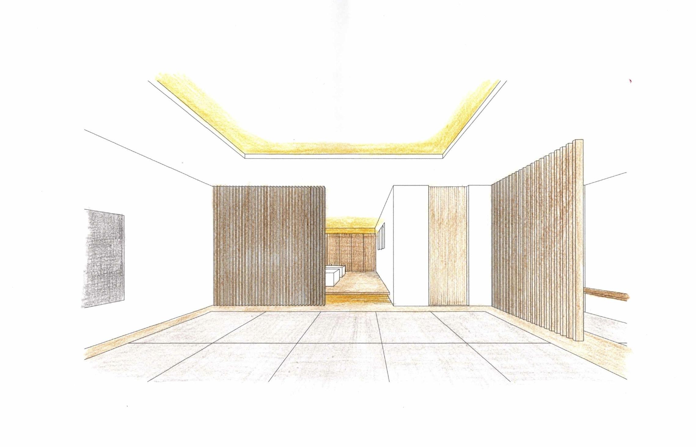 和室の検討,和モダンスイート,宝塚,高級注文住宅設計,プールハウス