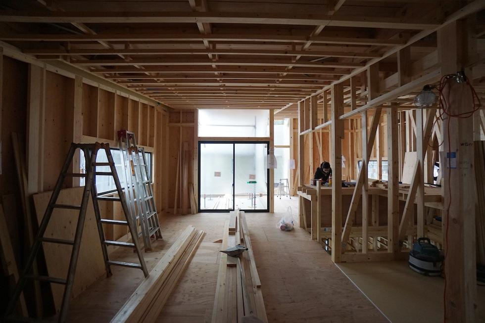 建築家,宝塚,大阪,京都,神戸,高級注文住宅設計,眺望の家,スカイリビング,箕面,板貼り